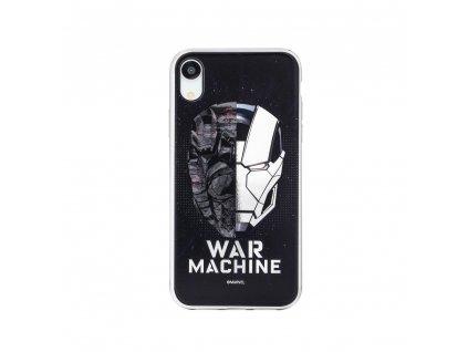 Licencované pouzdro Samsung A6 Plus 2018 War Machine silver vzor 001