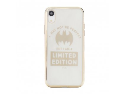 Licencované pouzdro Apple Iphone 6 Plus / 6S Plus Bat Girl Luxury Chrome zlaté vzor 005