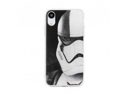 Licencované pouzdro Samsung Galaxy A6 2018 Star Wars Stormtroopers šedé vzor 001