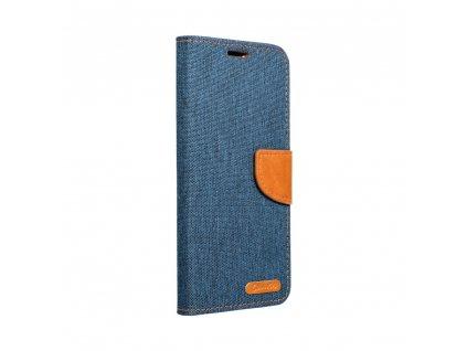 Pouzdro Canvas Mercury Book Samsung S10 Pro navy blue