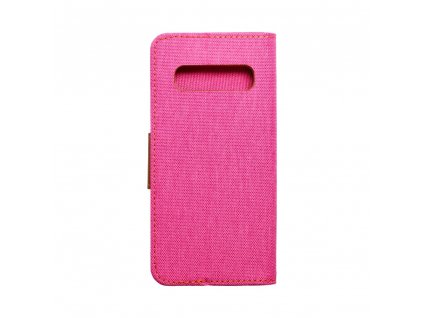 Pouzdro Canvas Mercury Book Samsung S10 růžové