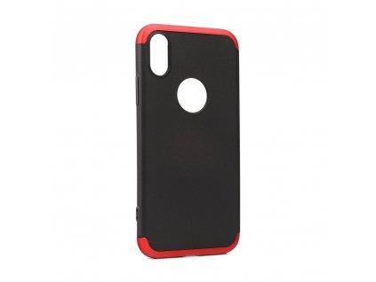 Originální obal GKK 360 Full Protection Apple Iphone X červeno černý