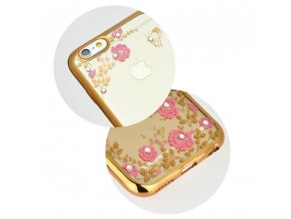 Pouzdro Forcell DIAMOND Samsung Galaxy A50 zlaté