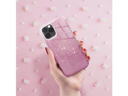 Pouzdro Forcell SHINING Samsung Galaxy A10 růžové