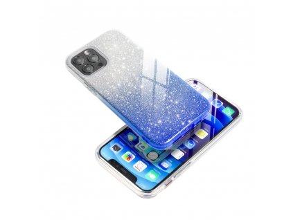 Pouzdro Forcell SHINING Samsung Galaxy A10 transparentní/modré