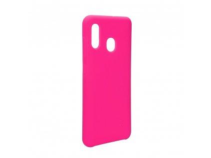 Pouzdro Forcell Soft-Touch SILICONE Samsung Galaxy A30 růžové
