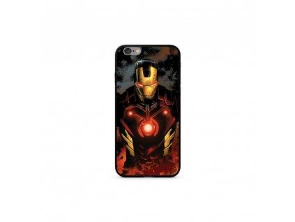 Licencované pouzdro Apple Iphone 6 Plus / 6S Plus Iron Man Premium GLASS multicolor vzor 023