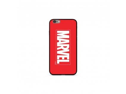 Licencované pouzdro Apple Iphone 6 / 6S Marvel Premium GLASS červené vzor 005