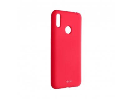 Pouzdro Roar Colorful Jelly Case Huawei Y7 2019 růžové