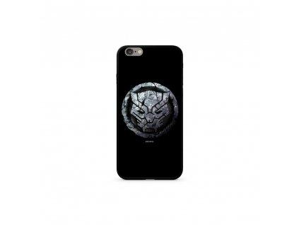 Licencované pouzdro Apple Iphone 7 Plus / 8 Plus Black Panther Premium GLASS černé vzor 015