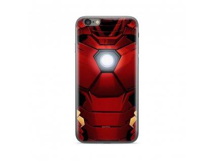 Licencované pouzdro Apple Iphone 5 / 5S / SE Iron Man červené vzor 020