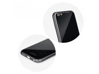 Pouzdro Forcell Glass Samsung Galaxy A40 černé