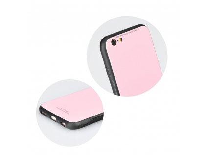 Pouzdro Forcell Glass Samsung Galaxy A40 růžové