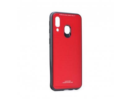 Pouzdro Forcell Glass Samsung Galaxy A40 červené