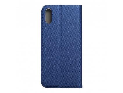 Pouzdro Smart Case Book Sony L3 navy blue