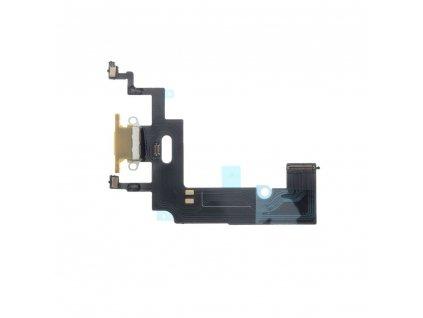 Flex kabel s konektorem pro nabíjení EQ Apple Iphone XR žlutá