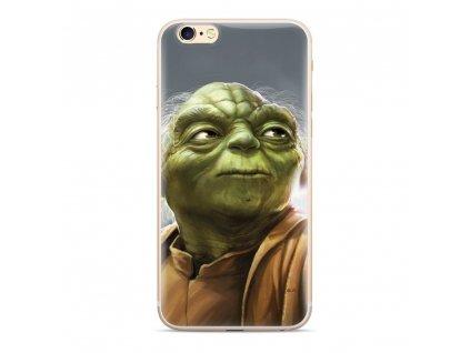 Licencované pouzdro Apple Iphone 5 / 5S / SE Star Wars Yoda multicolor vzor 006