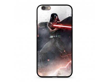 Licencované pouzdro Apple Iphone 6 / 6S Star Wars Darth Vader Premium GLASS multicolor vzor 002