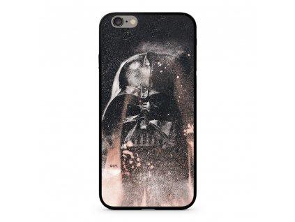 Licencované pouzdro Apple Iphone 6 / 6S Star Wars Darth Vader Premium GLASS multicolor vzor 014