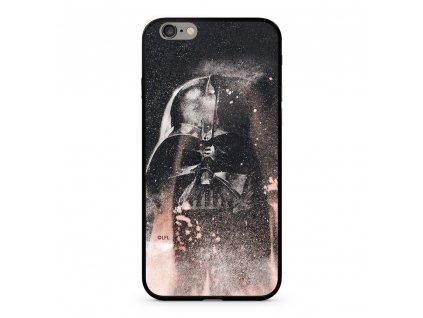 Licencované pouzdro Apple Iphone 6 Plus / 6S Plus Star Wars Darth Vader Premium GLASS multicolor vzor 014