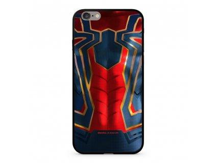 Licencované pouzdro Apple Iphone 6 Plus / 6S Plus Spiderman Premium GLASS multicolor vzor 016