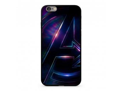 Licencované pouzdro Apple Iphone 7 Plus / 8 Plus Marvel Avengers Premium GLASS multicolor vzor 012