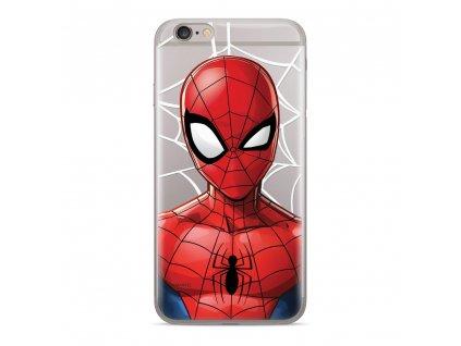Licencované pouzdro Apple Iphone 6 Plus / 6S Plus Spiderman transparentní vzor 012