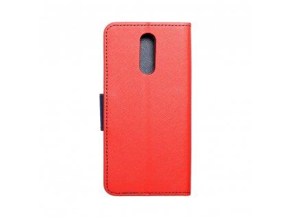 Pouzdro Fancy Book LG K40 červené/navy blue