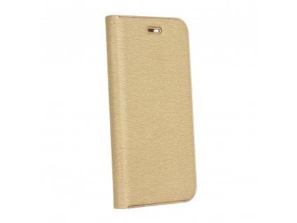 Pouzdro Forcell Luna Book Samsung Galaxy A40 zlaté
