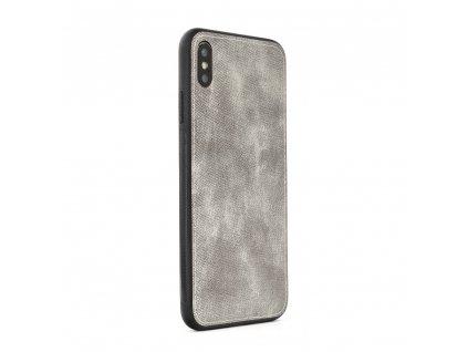 Pouzdro FORCELL Denim Huawei Y7 2019 šedé