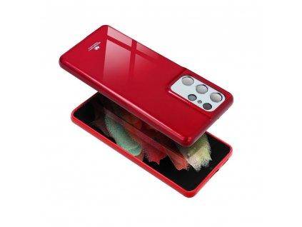 """Pouzdro Goospery Mercury Jelly Apple Iphone XS Max (6,5"""") červené"""