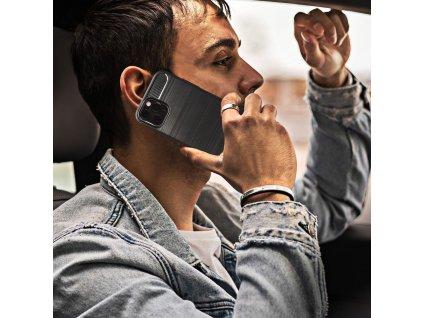 Pouzdro Forcell CARBON Samsung Galaxy A20e černé