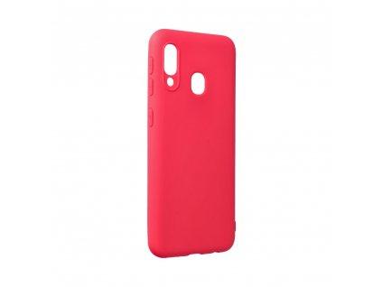 Pouzdro Forcell SOFT Samsung Galaxy A20E červené