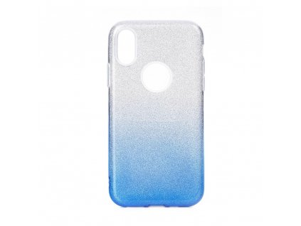 Pouzdro Forcell SHINING Samsung Galaxy A60 transparent/modré