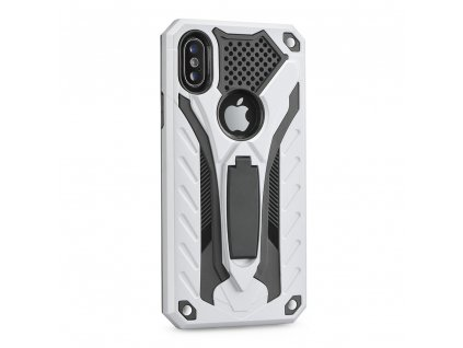 Pouzdro Forcell PHANTOM Huawei Y6 2019 stříbrné