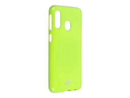 Pouzdro Goospery Mercury Jelly Samsung Galaxy A40 limonka