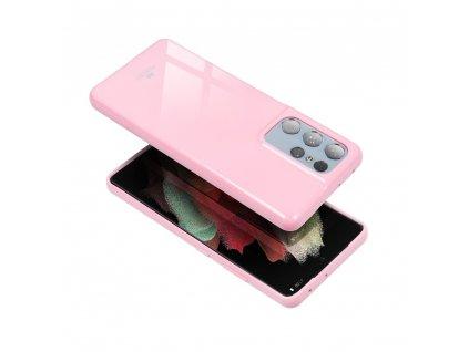 Pouzdro Goospery Mercury Jelly Samsung Galaxy A40 světle růžové