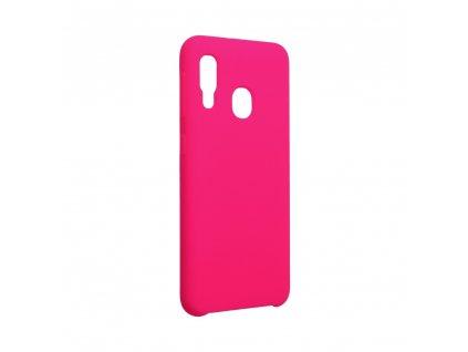 Pouzdro Forcell Soft-Touch SILICONE Samsung Galaxy A20E růžové