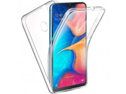 Pouzdro 360 Full Cover Samsung Galaxy A20E transparentní
