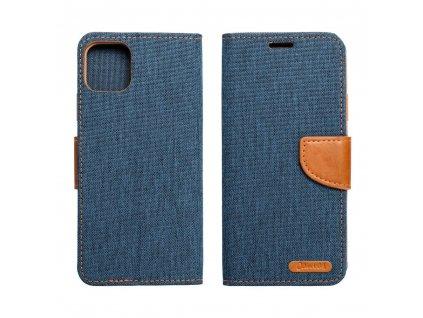 Pouzdro Canvas Mercury Book Samsung A20e navy blue