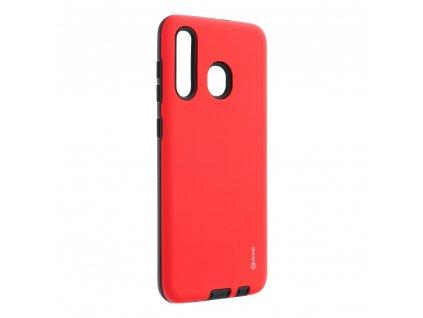 Pouzdro Roar Rico Armor Samsung Galaxy A20 červené