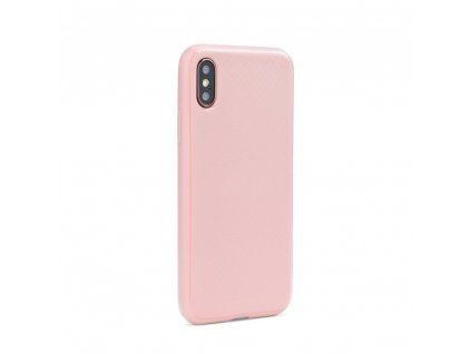 Pouzdro Mercury Style Lux Samsung S10 světle růžové