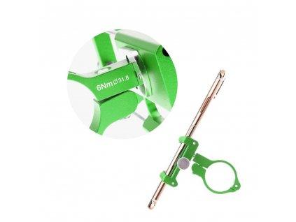 Držák na kolo Metal pro mobilní telefon - zelený