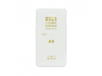 Pouzdro Back Case Ultra Slim 0,3mm - Samsung Galaxy A9 - transparentní