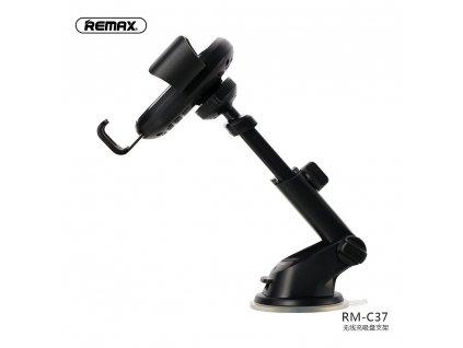 REMAX Držák do auta s bezdrátovým indukčním nabíjením RM-C37 černý