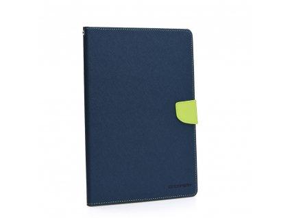 Pouzdro Mercury Fancy Diary iPad MINI 2019 navy blue / limonka