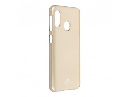 Pouzdro Goospery Mercury Jelly Samsung Galaxy A20E zlaté