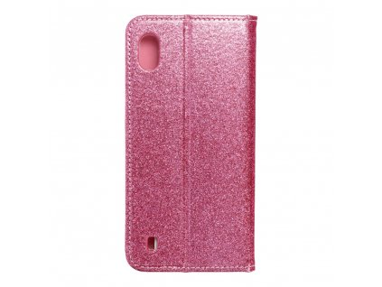 Pouzdro Forcell SHINING Book Samsung A10 růžové