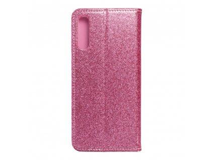 Pouzdro Forcell SHINING Book Samsung A50 růžové