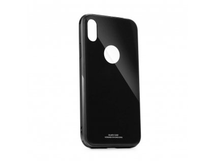 Pouzdro Forcell GLASS Premium Apple Iphone XS černé